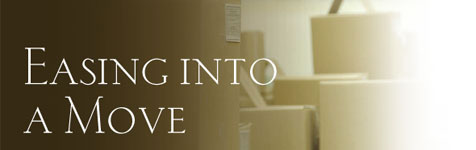 Moving: One of life's greatest stresses...